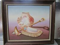 """*** Richard Haines Native Indian Painting 21x24"""" ***"""