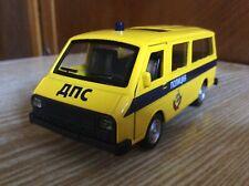 "РАФ-2203 ДПС   ""Police""  Light,Sound 1:32 die-cast Metal car"