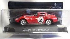 LA MASERATI 1/43 MASERATI 151 #2 24H LE MANS 1962 - N. 15/25 NUOVA IN BLISTER