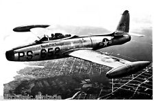 Postcard 797 - Aircraft/Aviation Real Photo Republic F-84A Thunderjet
