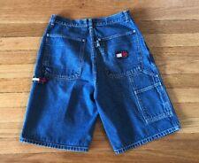 Boys Vintage Tommy Hilfiger Carpenter Blue Jean Shirts Size 18 EUC ( Women's )