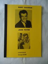 RORY CALHOUN/JOHN PAYNE/belgian fanzine