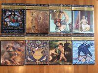 Lot of 8 CHEFS-D'OEUVRE DE L'ART L'ART ORNEMENTAL 1969 No. 1,3,6,7,8,10,11,12