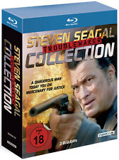 Steven Seagal Troublemaker Collection   BluRay Box  NEU und OVP FSK 18