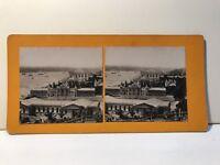Costantinopoli Panorama Turchia Foto Stereo Vintage Analogica