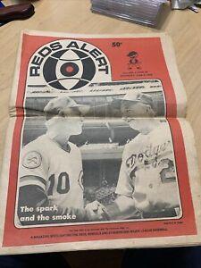 The Cincinnati Reds 1976 Alert newspaper V.3 #34