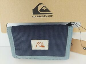 QUIKSILVER THE EVERDAILY INSIGNIA BLUE SURF WALLET MENS BOYS NEW  LOGO poly tri