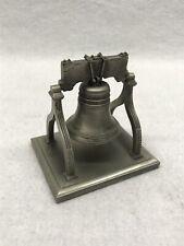 Hudson Pewter Liberty Bell #703 Vintage