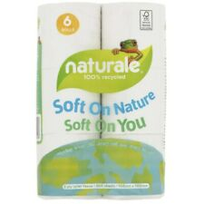 Naturale 2 Ply Print Toilet Paper 100% Recycled 6pk