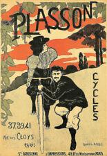 Bicycle Bike Cycles Plasson  Cycle Deco  Art Poster Print