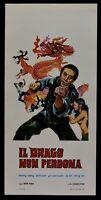 L121 Plakat Bruce Lee Karate' Kampfsport Kung Fu Die Drachen Nicht Vergeben