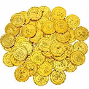 Gold Coins Pirate Gold Coins Toy Coins Plastic Gold Coins Party Bag Fillers