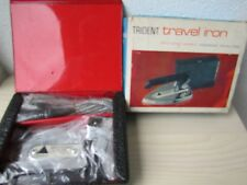 Vintage Travel Iron PIFCO Travel Iron No 932, Fold Down Handle.