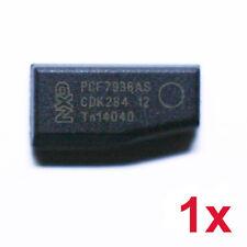 1x TRANSPONDER KEY NXP ID46 PCF7936AS BLANK CHIP KEY CAR LLAVE CHIAVE PCF7936