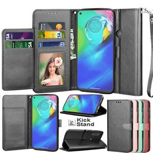 For Motorola Moto G Power / G Stylus 2020 Case Wallet Leather Flip Holder Cover