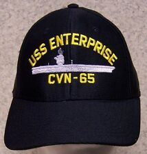 Embroidered Baseball Cap Military Navy USS Enterprise NEW 1 hat size fits all