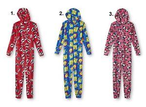 NEW Womens Size XL-Plus 1X Mickey Mouse Pajamas One Piece Union Suit Tweety Bird