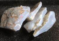 Opal Rough Colourful Parcel Of 4 Opals