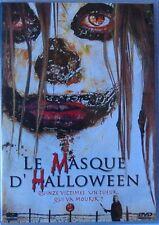 DVD LE MASQUE D'HALLOWEEN - Amy WEBER / Michael ZARA - Carte Hologramme