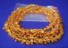 Lot Wholesale Of 5 Baltic Amber Baby Necklaces 10.60 - 11.80 inches