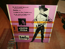 "jack irsa et ses cow-boys"".ep7""or.france.barclay:72034.biem.mint-."