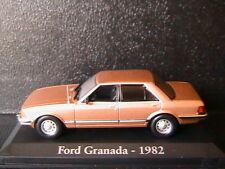 FORD GRANADA 2.8I GHIA 1982 MARRON CLAIR RBA COLLECTABLES 1/43 LIGHT BROWN METAL