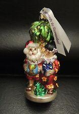 Nib Ornaments to Remember Mele Kalikimaka Merry Christmas Glass Ornament Hawaii