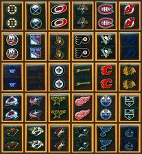 $1.99 each NHL 2012-13 Foil Logo All Teams /30 Panini Hockey Sticker Singles