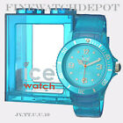Authentic Unisex Ice Jelly Turquoise Watch JY.TT.U.U.10