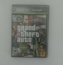 Grand Theft Auto IV -- Platinum Hits Edition (Microsoft Xbox 360, 2009)