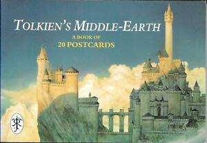 Tolkien's Middle Earth Post card Book