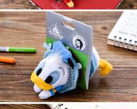 Disney Donald Duck Brooch Keychain keyring Plush Toy