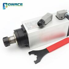 4KW Square Air Cooled Spindle Motor ER25 18000rpm 300HZ for CNC Router Machine