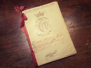 1918 - CENNI STORICI SUL REGGIMENTO NIZZA CAVALLERIA - TENENTE ANTONIO SBRISCIA