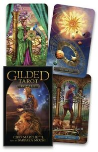 GILDED TAROT ROYALE Deck Card Set divination fortune telling oracle cards witch