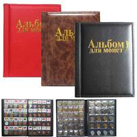 250 Album Coin Penny Money Storage Book Case Folder Holder Collection