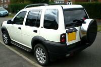 Landrover DIscovery Freelander  RVS  TD Steel wheel cover spare tyre wheelcover