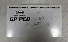Arai PED kit - Genuine parts suitable for GP6 SK6 GP5 & SK5
