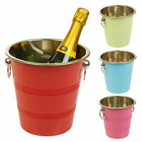 Metal Chic Champagne Ice Cooler Bucket Wine Drink Trough Party Accessory Beer