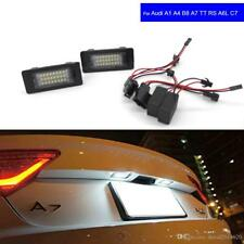 Éclairages plaque immatriculation LED Blanc AUDI TT MK2 Q5 A4 A5 S5 VW PASSAT B6