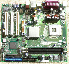 Socket 478 Motherboard MB 3 PCI slots,no AGP,on board video P4G533 good capacito
