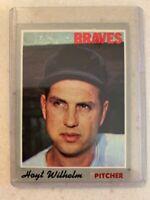 1970 Topps # 17  Hoyt Wilhelm HOF! Braves!