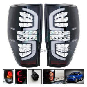 LED Smoke Crystal White Inside Tail Light Lamp Rear for Ford Ranger T6 2012-2017