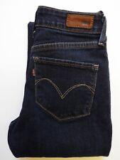 LEVI'S BOLD CURVE jeans femme coupe droite W27 L30.5 bleu foncé levj 592 #