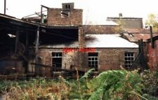 PHOTO  2005 BIRKHILL FIRECLAY MINE FALKIRK THE DERELICT PROCESSING BUILDINGS. TH