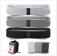 New listing Cloth Fabric Resistance Hip Booty Bands Loop Exercise Workout Fitness Gym Band