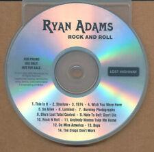 Ryan Adams Rock and Roll RARE promo (test pressing acetate) advance CD '03