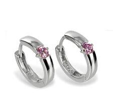 Moda Orecchini Donna Orecchini ad anello con zirconia 925/000 Argento - K5712