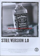 "Jack Daniels ""Still Version 1.0"" 2002 Magazine Advert #1776"