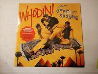 Whodini-Open Sesame Vinyl LP 1987